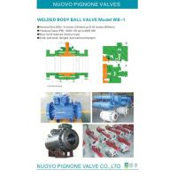 Quality WB-A Welded Ball Valve for sale