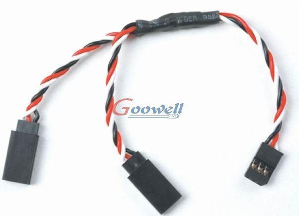 Buy Wires for RC products Futaba servo twist Y extension at wholesale prices