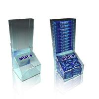 Quality Item:Acrylic candy bar display bins for sale
