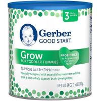 Quality Gerber Good Start Infant Formula Grow Toddler Stage 3 Drink Powder, 24 Ounce, 4 Count for sale
