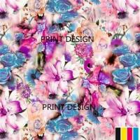 Buy cheap Digital Printing Canvas Cotton Fabric385 from wholesalers