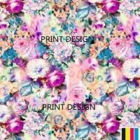 Buy cheap digital cotton printed fabric383 from wholesalers