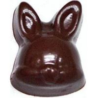 Quality 1 Inch Tall Bunnyheads, Sugar Free Chocolate, .4 oz each, individually wrapped for sale