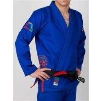 China Manto Lucha BJJ GI - Blue on sale