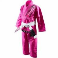 Quality Hayabusa Yuushi 2016 Kids Jiu Jitsu Gi (Belt Included) - Pink for sale