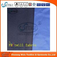 Buy cheap 260GSM FR antistatic 100% cotton twill fabric for garment from wholesalers