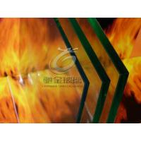 China Single layer Fire Rated Glass on sale