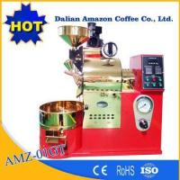 Quality Commercial Coffee Roasting Machine Equipped Control Panel 1Kg Coffee Roaster For Coffee Shop for sale