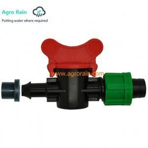 Buy Offtake valve for drip tape from PVC pipe with grommet Dn17 at wholesale prices
