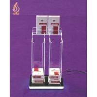 Quality Counter LED Acrylic Cigarette Display Dispenser for sale