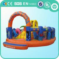 Quality mini inflatable fun city for sale