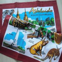 China Australia Souvenir Cool Tea Towels Printed Natural Scenes Good for Household Linen Use on sale