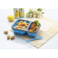 Quality Collapsible silicone lunch box for sale
