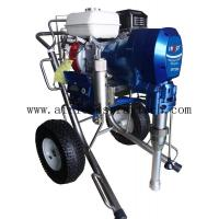 China Airless Pump High Pressure Cart Mounted Engine Hydraulic Piston Pump Airless Paint Sprayer SPT7900 on sale