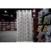 China Musical note Printed TC Curtain on sale