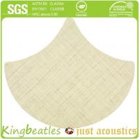 Wool Silk Decorative Acoustics Tiles for Sound Absorbing and Insulation in Office, Hotel