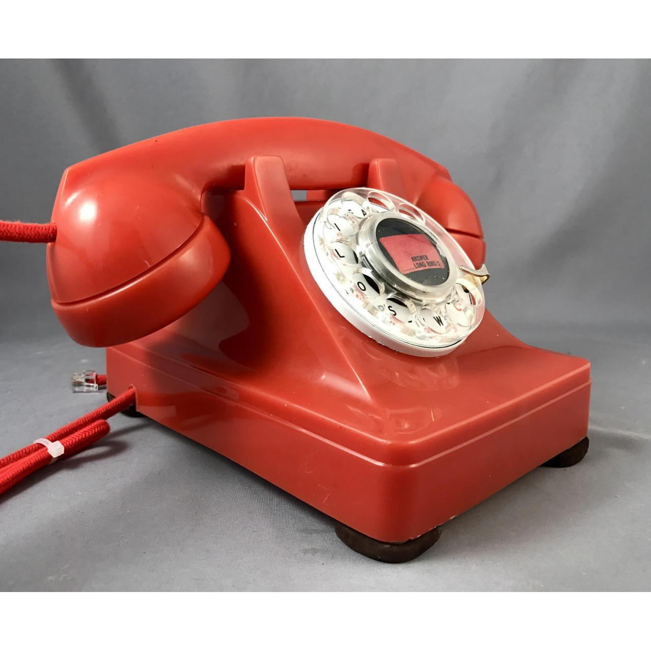 Quality 302 - Red - Fully Refurbished Antique Phones for sale