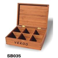 Quality Bamboo Storage Boxes for sale