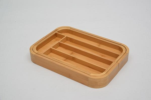 Buy Bamboo Expandable Utensil Tray at wholesale prices
