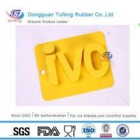 Quality Silicone Kitchenware Silicone Customized Cool Alphabet Ice Tray Mold with Letter Shaped for sale