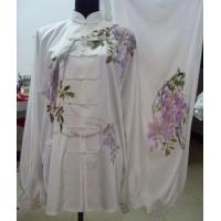 Quality Martial Arts Uniforms women kungfu clothing with hand painted 201282395549 for sale
