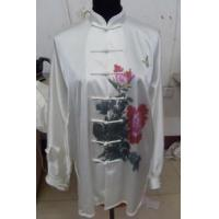Quality Martial Arts Uniforms kungfu suit with hand painted peony and 2012822162324 for sale