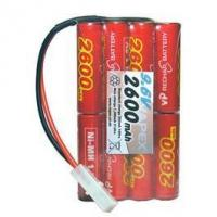 China Battery Cell Packs Radio Control Receiver Battery Pack 9.6v 2600mah 2x4 on sale