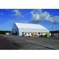 Curve tent for event