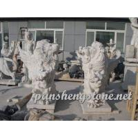 marble animal lion statues