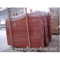 Buy cheap red travertine Marble Slab from Wholesalers