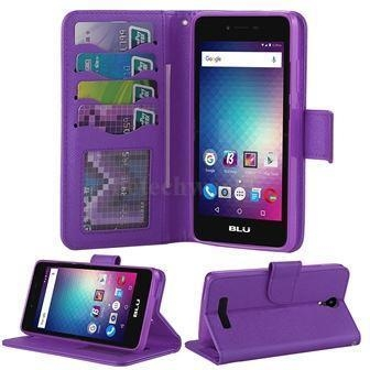 Buy BLU Studio G HD LTE Genuine Leather Cellphonecases Wallet Style BLU Cover Phone Cases at wholesale prices