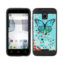 Alcatel One Touch Dawn A5027 Unique Designs Tough Armor Protectivr Cell Phone Cases