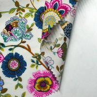 Quality 100% Cotton Printed Shirt Fabric Reactive Pigment Printing Suit Woven Twill/plain Fabric for sale