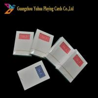Quality Custom Design Casino Pokers In Paper And Plastic for sale