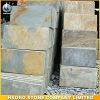 Quality Rusty Yellow Slate Tiles for sale