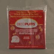"""Quality Scarlet Decopuffs 5.5"""" x 5.5"""" (22) Left in stock AA5 for sale"""