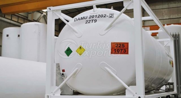 Buy LPG ISO Tank Container LPG ISO Tank Container at wholesale prices