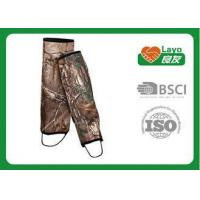 Camouflage Waterproof Leg Gaiters For Hiking Walking Climbing