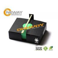 Quality Lunch Fast Food Custom Printed Food Boxes Health And Safety for sale