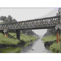 Quality Universal Surface Painted Long Span Bridge , Temporary Modular Bridge For Engineering for sale