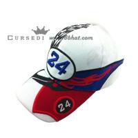 Quality cotton fitted hat, run baseball hat for sale