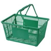 Plastic shopping baskets for sale