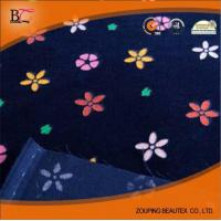 Quality Hot Sale 100% cotton printed denim fabric for clothes and mat in Shandong for sale