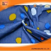 Quality Hot Sale 100% cotton printed denim fabric for jeans for sale