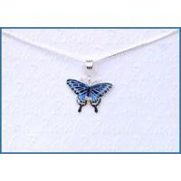 Quality Zarah Dark Swallowtail Butterfly Necklace for sale