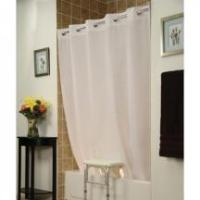 Quality Bath INVACARE BENCHBUDDY HOOKLESS SHOWER CURTAIN for sale