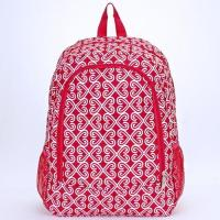 Quality twist fuchsia white backpack for sale