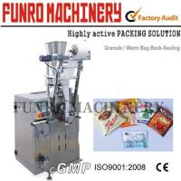 Buy cheap Vertical Pouch Filling Sealing Machine, Back Seal Bag Filling Machine from wholesalers
