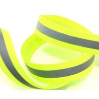 Quality Wholesale Reflective Webbing Tape With Iron On Gloss Reflective Sew On Tape For Clothes for sale