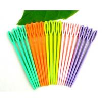 Quality High Quality Cheap Colorful Plastic Sewing Needles For Adults And Children for sale